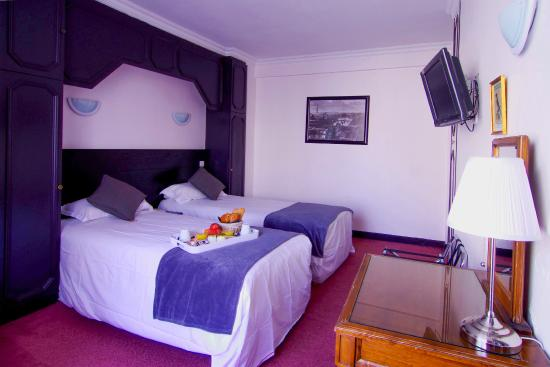 Hotel Le Clery: chambre