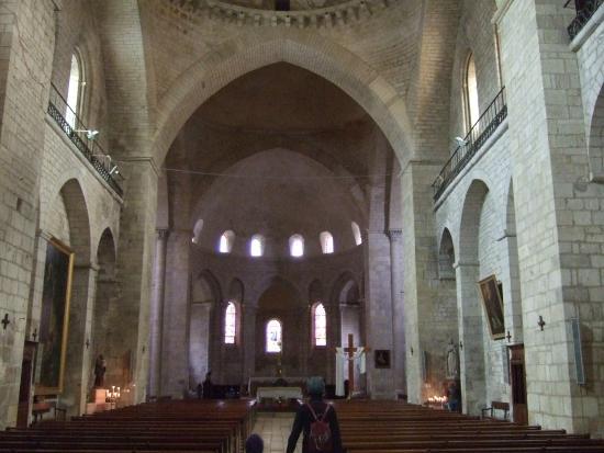 Abbaye Sainte-Marie de Souillac: 教会内部