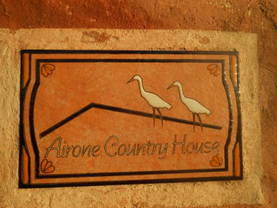 Airone Country House : numero della camera