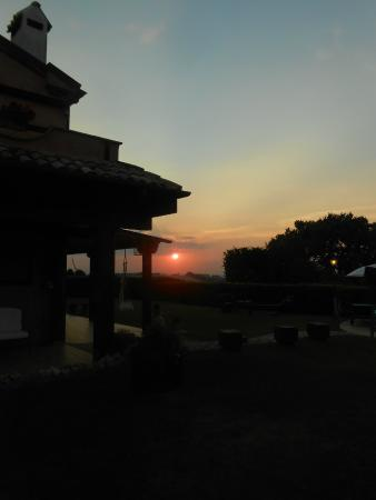 Airone Country House : tramonto