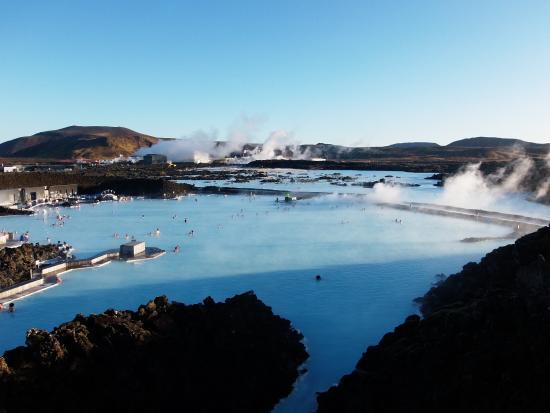 Grindavik, ไอซ์แลนด์: Overzicht van het complex en omgeving