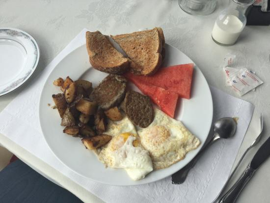 St. Martins Country Inn: Breakfast