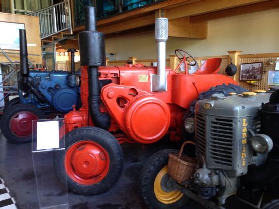 Gualdo Cattaneo, İtalya: Museo del trattore