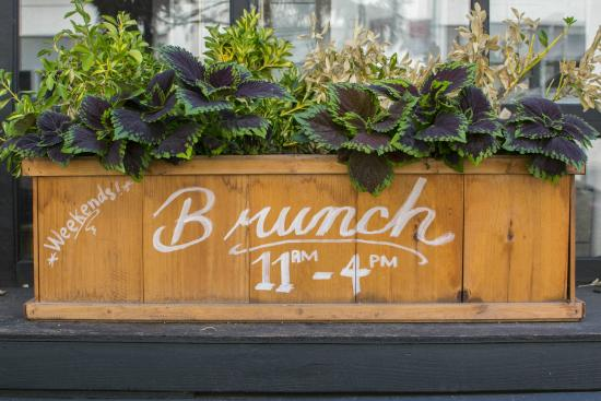 outside decor  Picture of Chalk Point Kitchen, New York City