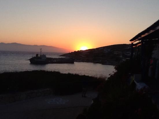 Pension Iliovasilema: Iliovasilema= tramonto