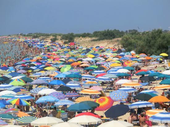 Pescoluse, Italien: di domenica leggermente affollato