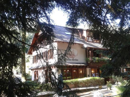 Hotel-Restaurant du Chateau d'Andlau: façade hôtel