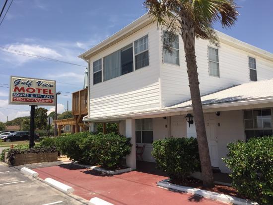 Gulf View Motel: July 2015