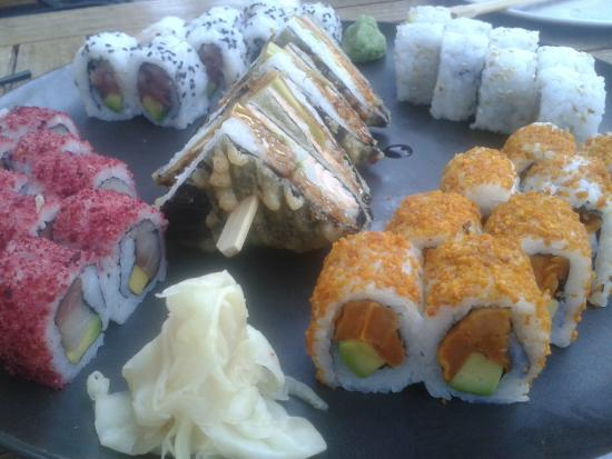Nini Hachi: Prettiest Sushi Platter