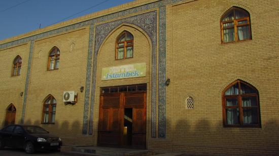 Hotel Islambek: L'entrata dell'albergo