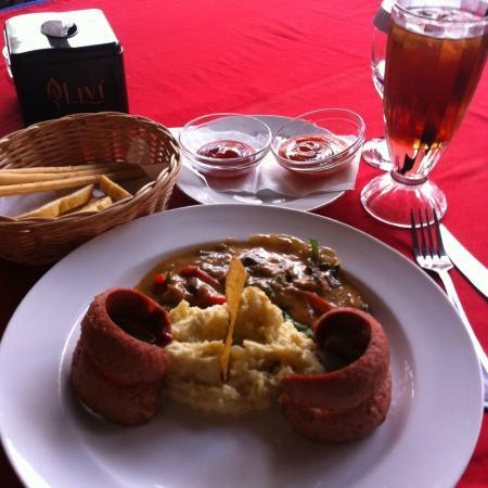 Maison Bogerijen: mashed potato sausage
