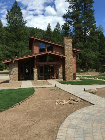 Nighthawk cabin. Sleeps 8 but with one private bedroom, one loft, 2 sleeper sofas