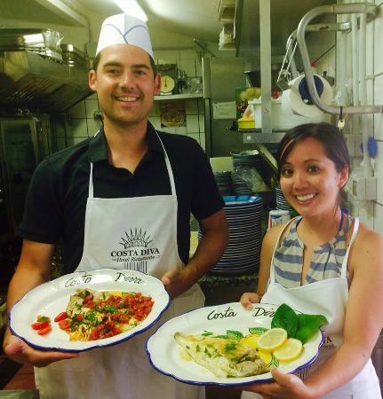 Ristorante ristorante costa diva in salerno con cucina for Costa diva