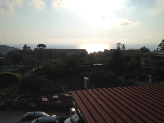 Hotel La Primavera: Vista dal terrazzino della camera
