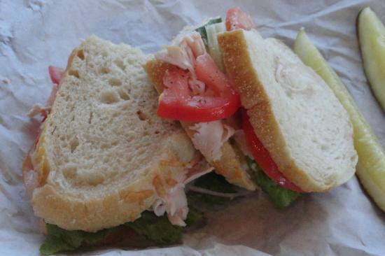 Great Harvest Bread Company: Deli sandwich on sourdough