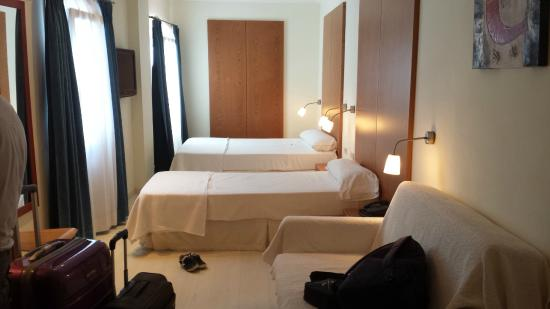 Hotel Costa Blanca: habitación