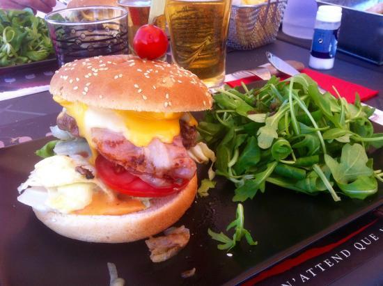 burger photo de la cabane d 39 arthur chateau d 39 olonne tripadvisor. Black Bedroom Furniture Sets. Home Design Ideas