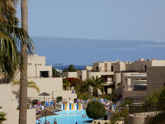 Blue Sea Costa Teguise Gardens: this was the view from our room