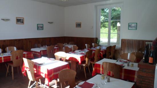 Hotel Restaurant de la Gare : Salle 1 restaurant