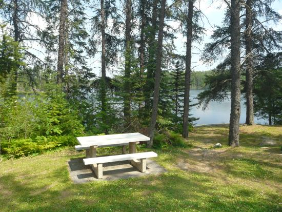 Trans Canada Trail: King's Highway picnic area, east of Fort Francis