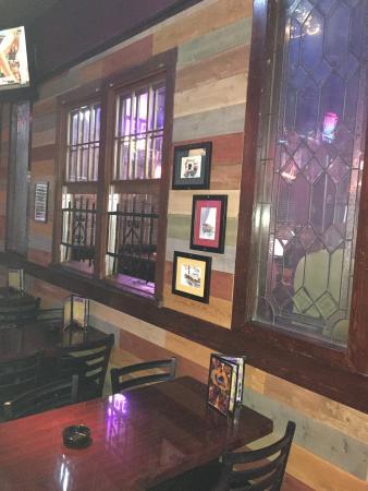 The Quarter Bar & Grill: Window into patio bar