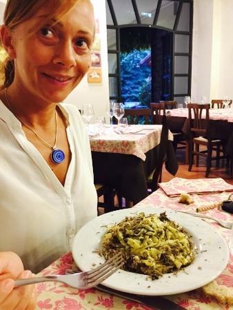 Melezzole, إيطاليا: tagliolini al tartufo