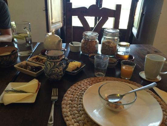 Casa Ana: Breakfast