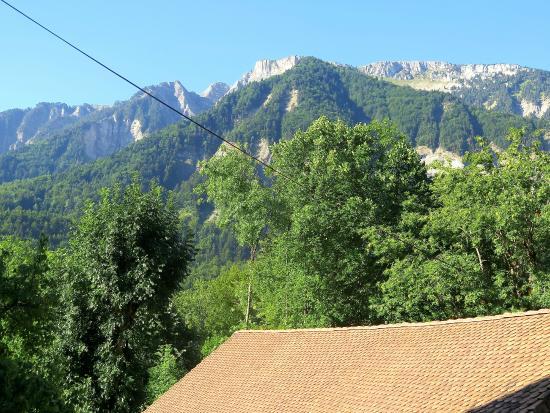 Au Gai Soleil du Mont Aiguille: La vue du balcon de notre chambre