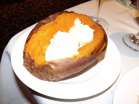 Canal Street Steak & Seafood: sweet potato