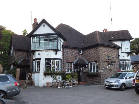 The Blacksmiths Head: Outside view