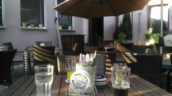 Reichenbach, Alemania: Biergarten