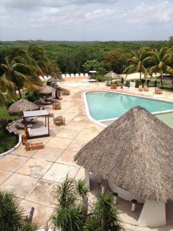 Uitzicht vanuit de hotelkamer picture of hotel uxmal resort maya uxmal tripadvisor for Hotelkamer