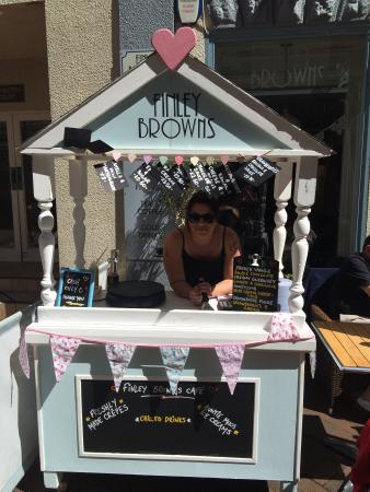 Teignmouth, UK : Summer crepe stand :) xxx