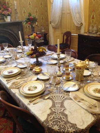 Kelton House dining room table - Picture of Kelton House ...