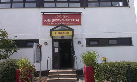 вход Picture Of Kaiser Garten Witten Witten Tripadvisor