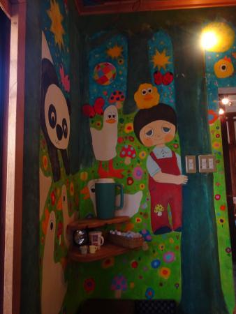 Hattifnatt: paintings on the walls