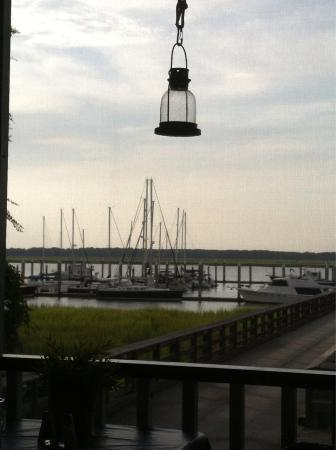 Sweetgrass Restaurant: View from screen porch dining