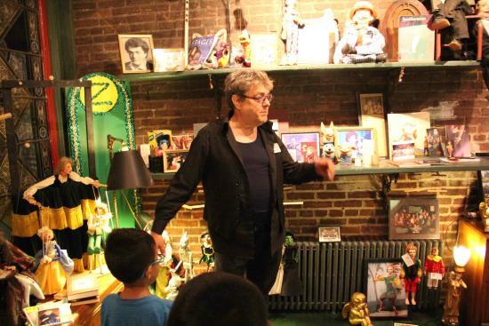 Lancaster Marionette Theatre : History Lesson
