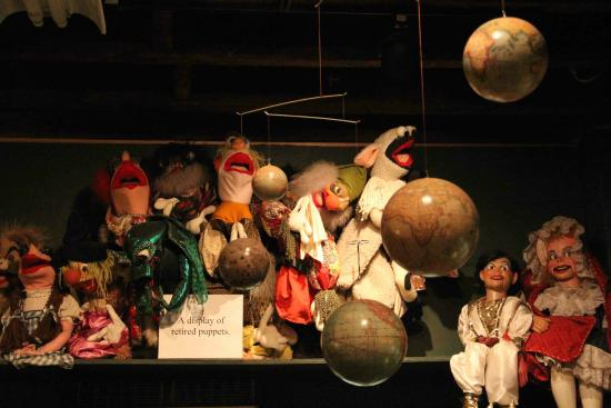 Lancaster Marionette Theatre : Retired Puppets