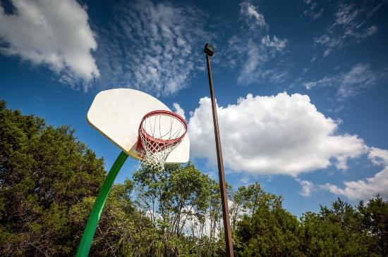 Whitney, TX: Basketball court