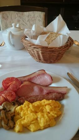 Higher Darracott Farm Bed & Breakfast: Lovely Breakfast
