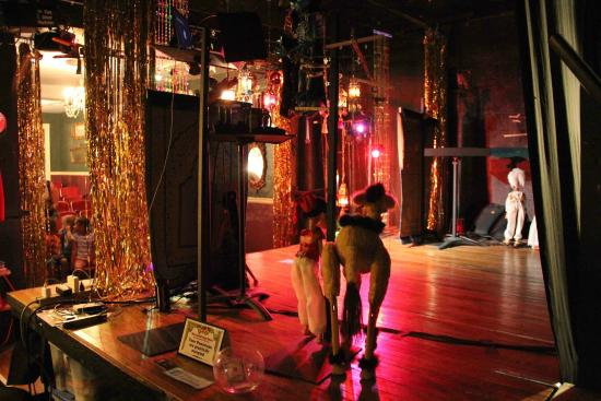 Lancaster Marionette Theatre : Back Stage