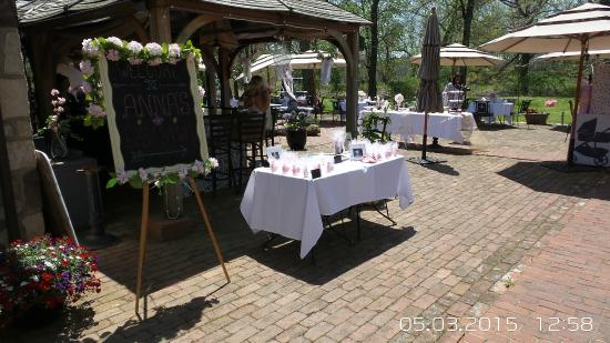 Bridgetown Mill House Restaurant & Inn: Baby shower ideas