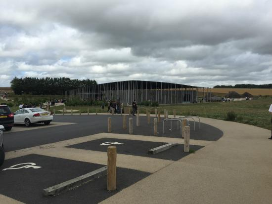 visitor centre and part of car park picture of stonehenge amesbury tripadvisor. Black Bedroom Furniture Sets. Home Design Ideas
