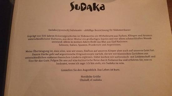 What does sudaka mean and dont get offended sudaka offene küche