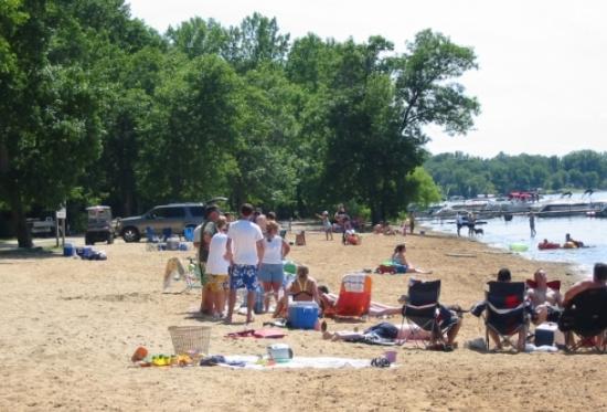 Milton, WI: Beach area