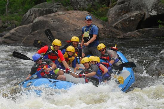 Warrensburg, Νέα Υόρκη: Safe excitement at the Hudson River Gorge
