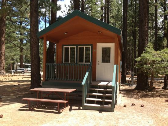 Tahoe Valley Campground: Cabin