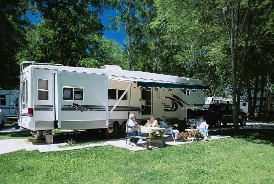 Tahoe Valley Campground: RV Site