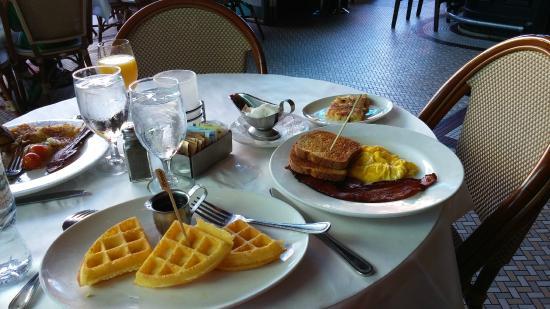 My Gluten Free Breakfast Picture Of Mon Ami Gabi Las Vegas